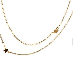 ⭐️⭐️Star double necklace⭐️⭐️just in⭐️